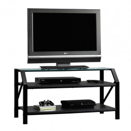Mueble para TV Beginnings Sauder Negro 2 Repisas
