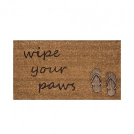 Tapete De Entrada Wipe Your Paws Sandals 45X75 CasaMia