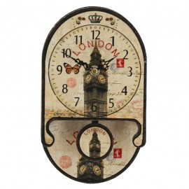 Reloj de Pared Big Ben con Péndulo