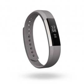 Fitbit Alta Accessory Band Leather Graphite Small - Envío Gratuito