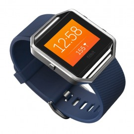 Fitbit Blaze Smart Fitness Watch Blue Silver - Envío Gratuito