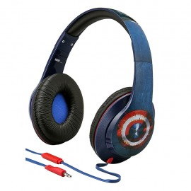 Audifonos Multimedia Civil War Capitan America